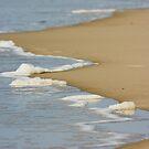 Wave Receding - Hammocks Beach State Park by NCBobD