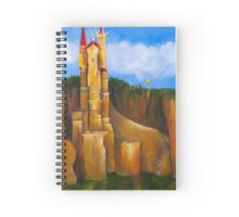 Visiting the Castle Spiral Notebook