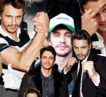 James Franco Collage Sticker