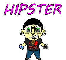 The Hipster by SynyklBastage