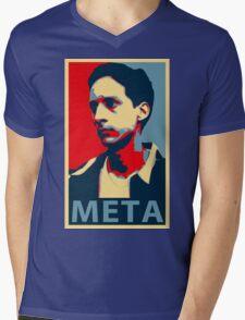 Meta Mens V-Neck T-Shirt