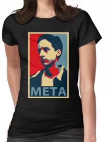 Meta Womens Fitted T-Shirt