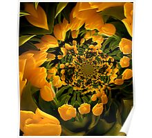 Dance of the Yellow Tulips Poster