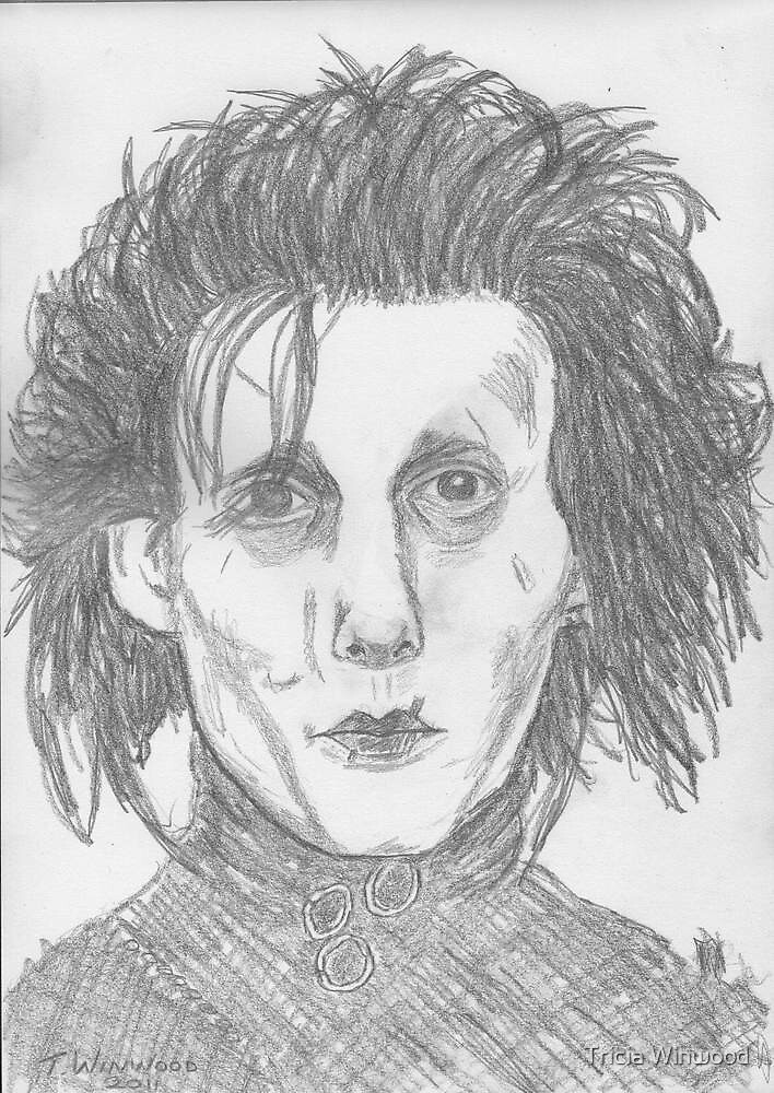 Edward Scissorhands by Tricia Winwood
