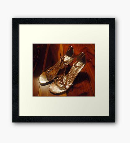 Wedding Shoes 2 Framed Print