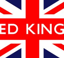 United Kingdom UK British Union Jack Flag Sticker