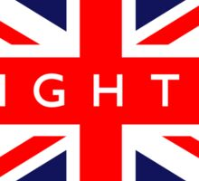 Brighton UK British Union Jack Flag Sticker