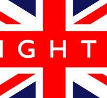 Brighton UK British Union Jack Flag Sticker