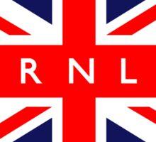 Burnley UK British Union Jack Flag Sticker