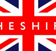 Chester UK British Union Jack Flag Sticker