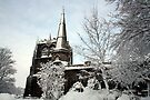 Ormskirk Parish Church - Snow Scene by Liam Liberty