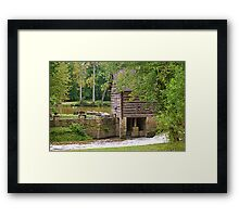 Grist Mill-London Ky Framed Print