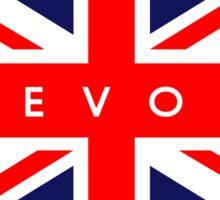 Devon UK British Union Jack Flag Sticker