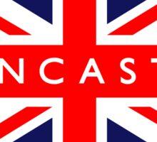Doncaster UK British Union Jack Flag Sticker