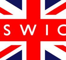 Ipswich UK British Union Jack Flag Sticker
