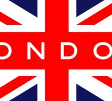 London UK British Union Jack Flag Sticker