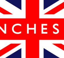 Manchester UK British Union Jack Flag Sticker