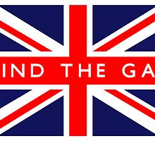Mind The Gap UK British Union Jack Flag by ukedward
