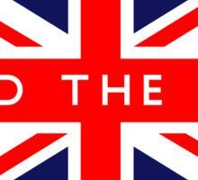 Mind The Gap UK British Union Jack Flag Sticker