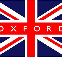 Oxford UK British Union Jack Flag by ukedward