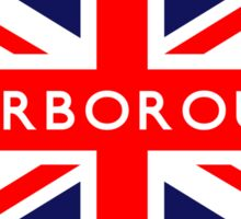 Scarborough UK British Union Jack Flag Sticker