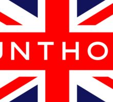 Scunthorpe UK British Union Jack Flag Sticker