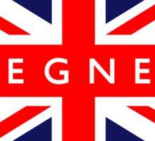 Skegness UK British Union Jack Flag Sticker