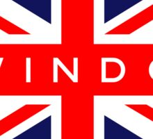 Swindon UK British Union Jack Flag Sticker