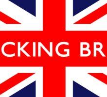 I'm Backing Britain UK British Union Jack Flag Sticker