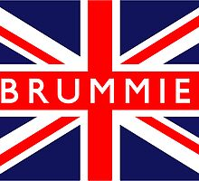 Brummie UK British Union Jack Flag by ukedward