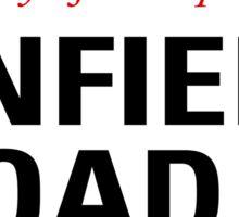 Anfield Road Liverpool Street Sign Die Cut Sticker Sticker