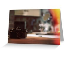 Canon AE-1 Greeting Card