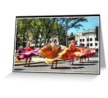 FIESTA Indianapolis 2 Greeting Card