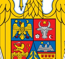 Romania Coat of Arms Sticker