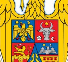 Romania Coat of Arms Sticker
