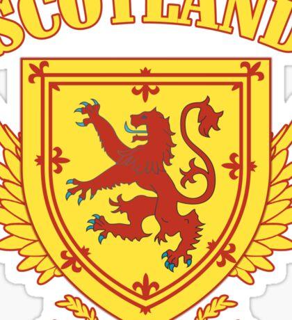 Scotland Coat of Arms Sticker