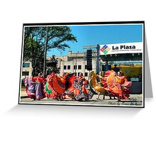FIESTA Indianapolis 7 Greeting Card