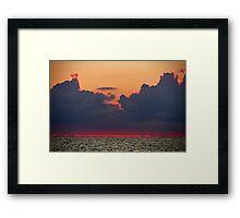 Sunset in Hiiumaa Framed Print