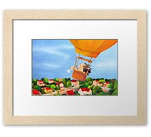 Leaving Home Framed Print