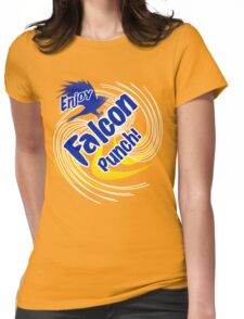 Falcon Punch! Womens Fitted T-Shirt