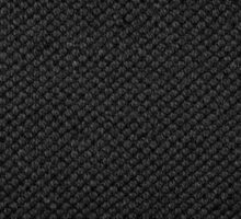 Black flax cloth texture abstract Sticker