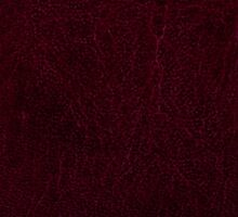 Claret leather sheet texture abstract  Sticker