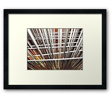 A Wired Perspective Framed Print