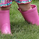 *Pink Rain Boots* by DeeZ (D L Honeycutt)