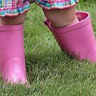*Pink Rain Boots* by DeeZ (D L Honeycutt)