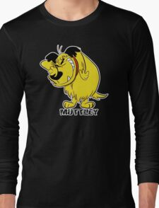 MUTTLEY FUNNY T SHIRTS T-SHIRTS WACKY RACES CARTOON ANT HILL MOB Hanna Barbera Long Sleeve T-Shirt