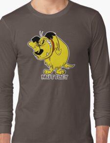 MUTTLEY FUNNY T SHIRTS T-SHIRTS WACKY RACES CARTOON ANT HILL MOB Hanna Barbera Long Sleeve T-Shirt