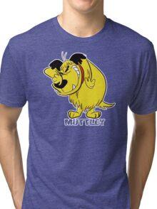MUTTLEY FUNNY T SHIRTS T-SHIRTS WACKY RACES CARTOON ANT HILL MOB Hanna Barbera Tri-blend T-Shirt