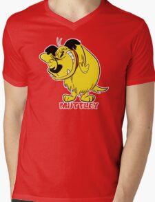 MUTTLEY FUNNY T SHIRTS T-SHIRTS WACKY RACES CARTOON ANT HILL MOB Hanna Barbera Mens V-Neck T-Shirt