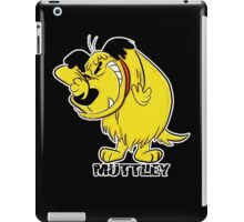 MUTTLEY FUNNY T SHIRTS T-SHIRTS WACKY RACES CARTOON ANT HILL MOB Hanna Barbera iPad Case/Skin